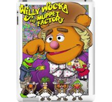 Willy Wocka and the Muppet Factory iPad Case/Skin