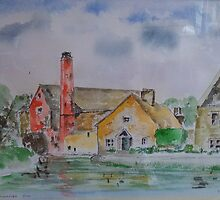 Lower Slaughter Mill 2 by DrPeterDean