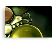 Liquid Metal Canvas Print