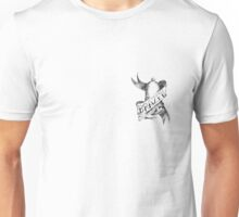 tattoo logo small black Unisex T-Shirt