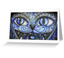 Cat's eyes. Greeting Card