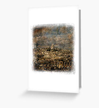 Sacré-Cœur, Paris – Forgotten Postcard Greeting Card