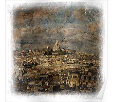 Sacré-Cœur, Paris – Forgotten Postcard Poster