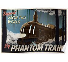 Final Fantasy VI - Come Ride the Phantom Train Poster