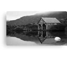 Dove Lake Boat House Canvas Print