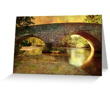 Exe Bridge Greeting Card