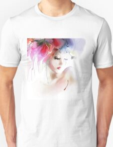 Portrait of a beautiful elegance woman T-Shirt