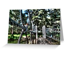 Holding... Greeting Card