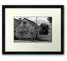 In the grounds of La Maison, Gizeux, Loire Valley Framed Print