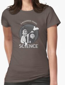 A HUNDRED YEARS SCIENCE Womens Fitted T-Shirt