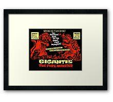Gigantis Framed Print