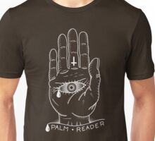 Palm Reader - Tattoo Flash (Black & White) Unisex T-Shirt