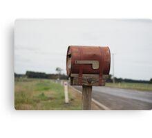 Rusty Mail Canvas Print