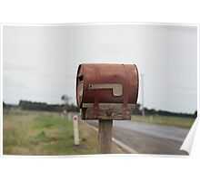 Rusty Mail Poster