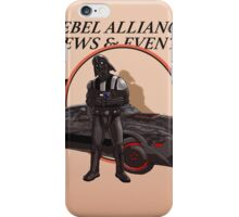 Vaders new ride iPhone Case/Skin