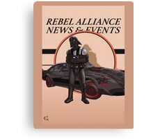 Vaders new ride Canvas Print