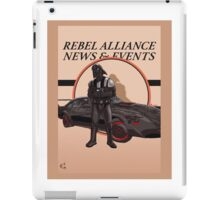 Vaders new ride iPad Case/Skin