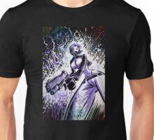 Ghost In The Shell, Art, Print, anime, manga, comic book, comic, comix, cartoon, animation, japan, japanese, girl, gun, female, drawing, wall, picture, poster, joe badon Unisex T-Shirt