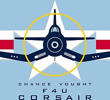 F4U Corsair Warbird Graphic1 by Dacdacgirl