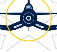 F4U Corsair Warbird Graphic1 Sticker