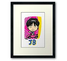GOT7 딱 좋아 JB Framed Print