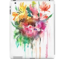 Flowers. Watercolor illustration iPad Case/Skin