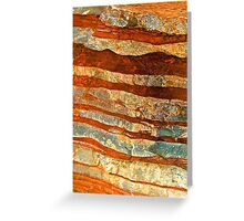 Rock Zebra Greeting Card