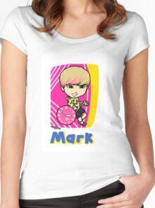 GOT7 딱 좋아 Mark Women's Fitted Scoop T-Shirt