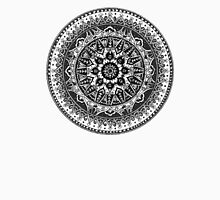 Black and White Mandala Pattern Unisex T-Shirt