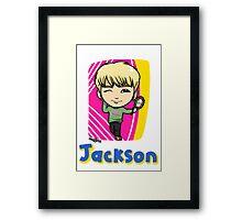 GOT7 딱 좋아 Jackson Framed Print