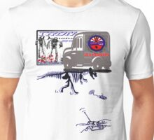delivery van tshirt by rogers bros Unisex T-Shirt