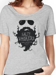 Salty Whiskers Beard & Mustache Club Women's Relaxed Fit T-Shirt