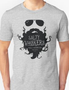 Salty Whiskers Beard & Mustache Club T-Shirt