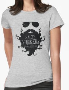 Salty Whiskers Beard & Mustache Club Womens Fitted T-Shirt