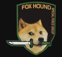 FOXHOUND Doge by evanmayer