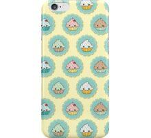 Kawaii Cupcake Pattern iPhone Case/Skin