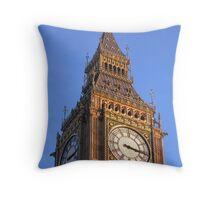 Big Ben close-up Throw Pillow
