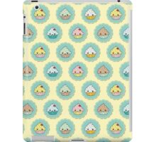 Kawaii Cupcake Pattern iPad Case/Skin
