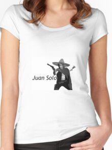 Juan Solo Women's Fitted Scoop T-Shirt