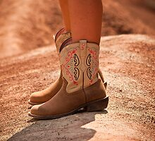 These boots were made for walking! by Sue Ratcliffe