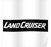 land cruiser  Poster