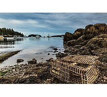 Old Lobster Trap Photographic Print