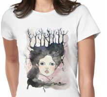 Winter Lover Womens Fitted T-Shirt