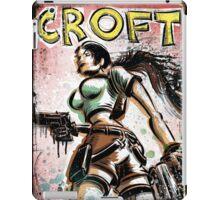 Lara Croft, Tomb Raider, Art, Print, Video Game, Movie, Comic Book, Geekery, Playstation, Illustration,Drawing, Birthday Present, joe badon, nintendo, sega, film, movie iPad Case/Skin