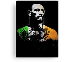 "Conor McGregor ""Irish Colors"" Canvas Print"
