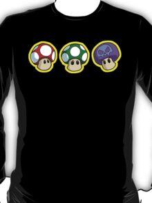 Super Mario Bros. - Mushrooms T-Shirt