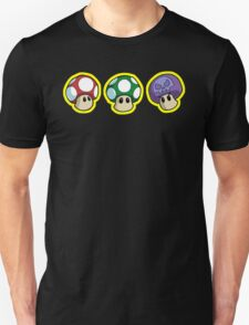 Super Mario Bros. - Mushrooms T-Shirt