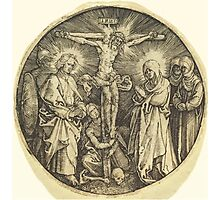 Albrecht Dürer or Durer The Crucifixion called the Sword Pommel of Maximilian Photographic Print