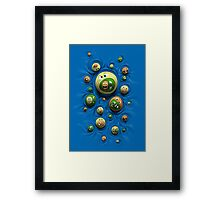 Emoticontagious Framed Print