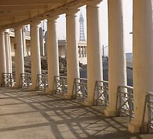 through the pillars by rebecca metcalf